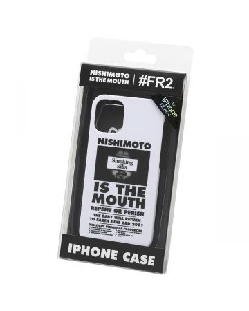 NISHIMOTO IS THE MOUTH Collaboration with #FR2 iPhone 12 mini CASE (MAN) / 001 : WHITE