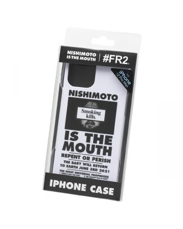 NISHIMOTO IS THE MOUTH Collaboration with #FR2 iPhone 12 Pro Max CASE (MAN) / 001 : WHITE