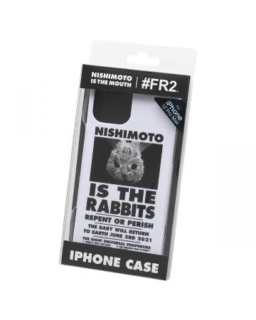 NISHIMOTO IS THE MOUTH Collaboration with #FR2 iPhone 12 Pro Max CASE (RABBIT) / 001 : WHITE