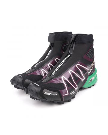 SALOMON FOOTWEAR SNOWCROSS ADVANCED / BLACK-MAVERICK-AMAZON