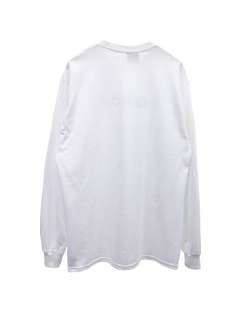 HOCKEY HELLHOLE L/S TEE / WHITE