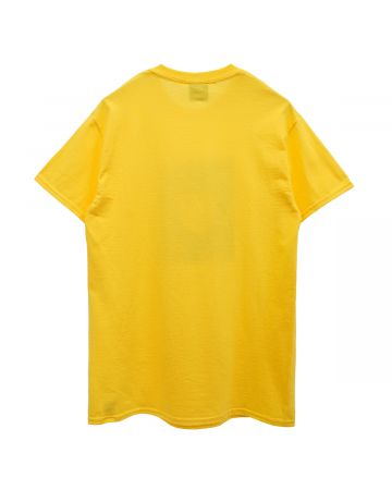 HOCKEY NO FACE TEE / BRIGHT GOLD