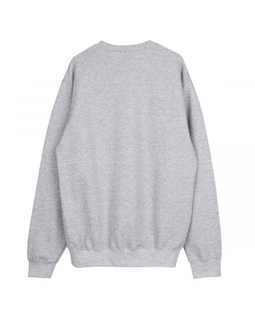 HOCKEY FOLD CREWNECK / GREY HEATHER