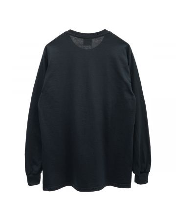HOCKEY NEIGHBOR LS TEE / BLACK