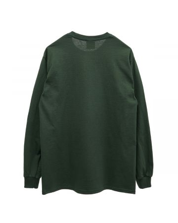 HOCKEY NEIGHBOR LS TEE / GREEN