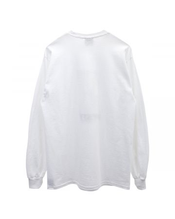 HOCKEY NEIGHBOR LS TEE / WHITE