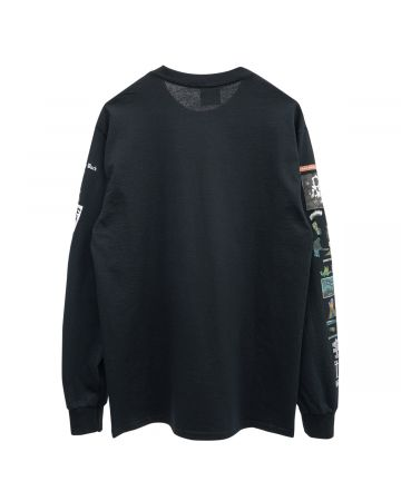 HOCKEY SUMMONED LS TEE / BLACK