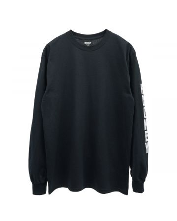 HOCKEY ULTRAVIOLENCE LS TEE / BLACK