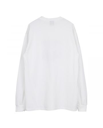 HOCKEY CRIPPLING LS TEE / WHITE