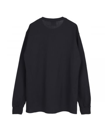 HOCKEY NERVES LS TEE / BLACK