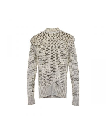 Isa Boulder BACKTOFRONT SWEATER / OATMEAL