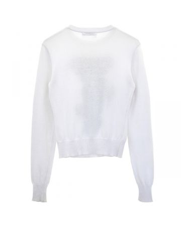 JW ANDERSON CHARACTER SWEATER / WHITE