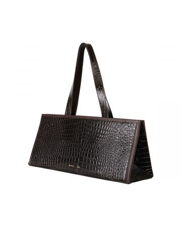 Peter Do for MEDEA BAGUETTE BAG CROC P / BROWN