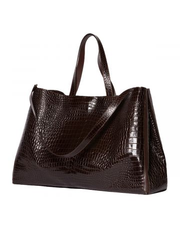 Peter Do for MEDEA EVERYDAY SHOPPER P / BROWN