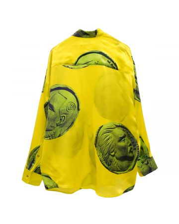 MAGLIANO MAGLIANO CURRENCY TWISTED SHIRT / 136 : CHIQUITA YELLOW