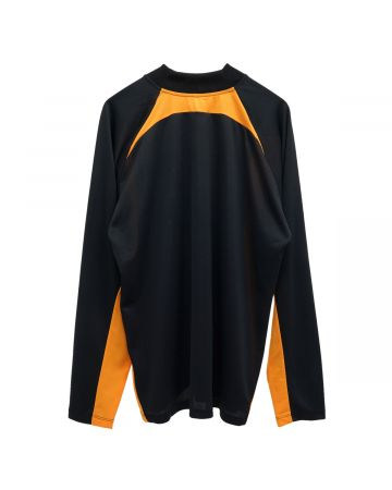 Martine Rose REVELS SHIRT / BLACK-ORANGE