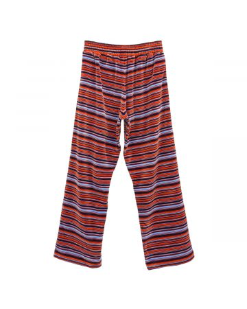 Martine Rose WIDE LEG SWEAT PANT / BLUE-ORANGE
