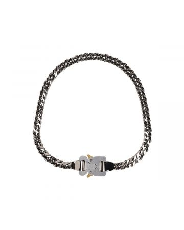 1017 ALYX 9SM CUBIX CHAIN NECKLACE / GRY0002 : SILVER
