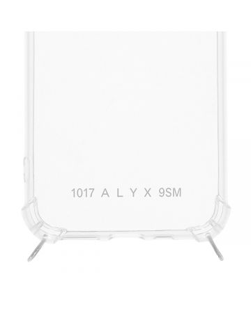 1017 ALYX 9SM IPHONE CASE 11 PRO WITH CUBIX / MTY0001:TRANSPARENT-SILVER
