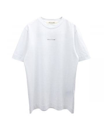 1017 ALYX 9SM COLLECTION NAME SS TEE / WTH0001 : WHITE