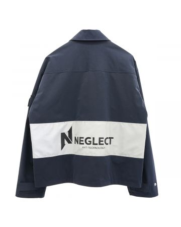 NEGLECT ADULT PATiENTS ANTI TECHNOLOGY JACKET / NAVY
