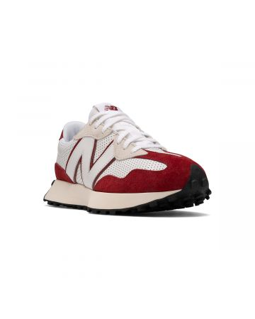 New Balance 327 / WHITE-RED