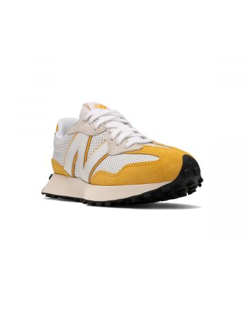 New Balance 327 / WHITE-YELLOW