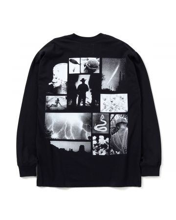 NEIGHBORHOOD x ONE OF THESE DAYS OOTD-2/C-CREW.LS / BLACK