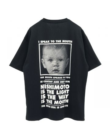 NISHIMOTO IS THE MOUTH S/S TEE / BLACK