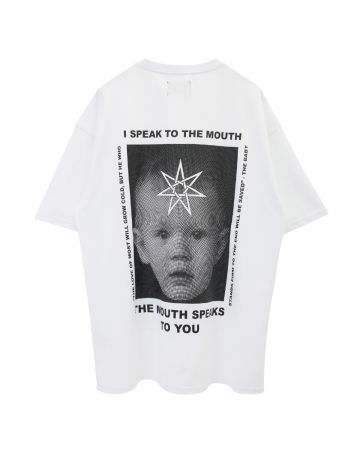 NISHIMOTO IS THE MOUTH S/S TEE / WHITE