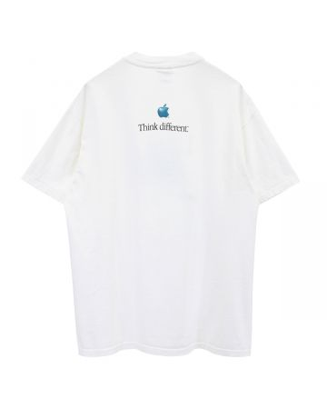 NOT / APPLICABLE APPLE THINK DIFFERENT 90'S / WHITE