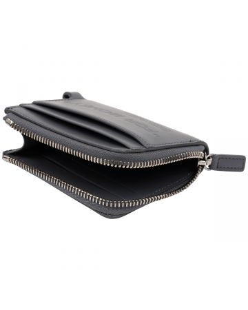 OFF-WHITE c/o Virgil Abloh MENS DEBOSSED QUOTE CHAIN WALLET / 0909 : GREY GREY