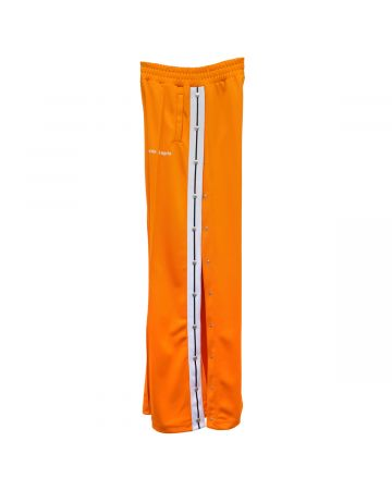 Palm Angels HIGH WAIST TRACK PANTS / 2001 : ORANGE WHITE