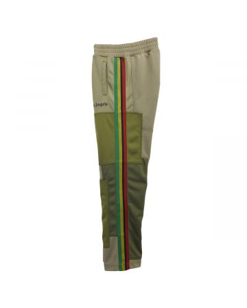 Palm Angels PATCHWORK CLASSIC TRACK PANTS / 5610 : MILITARY BLACK
