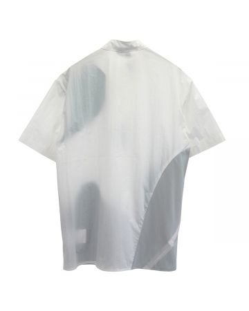 POST ARCHIVE FACTION 4.0 SHIRTS CENTER / WHITE