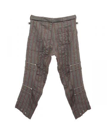 PHINGERIN ELEVATION PANTS STICHED WOOL / A : CHARCOAL