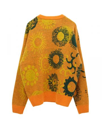 A Positive Messages MANY MANY SUNS AGO KNIT SWEATER / TANGTASTIC