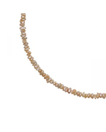 PREEK BEADS PEARL NECKLACE / PINK