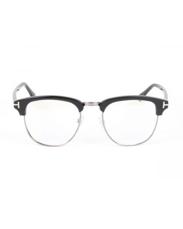 TOM FORD SUNGLASSES/232FT00B80 / BLACK-SILVER(CLEAR)
