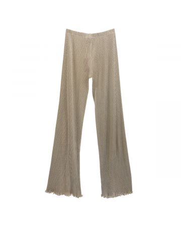 PRISCAVera SEAMLESS PLEATED PANTS / STONE