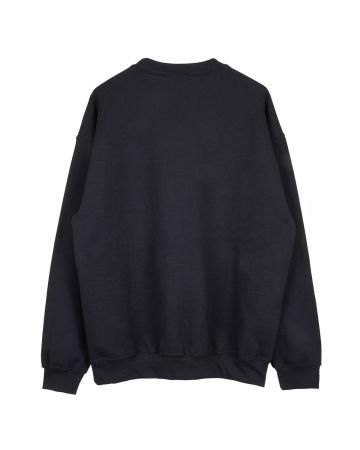 PHIRE WIRE MINDCRAFT CREW SWEAT / BLACK