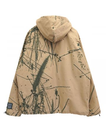 REESE COOPER BRUSHED COTTON CANVAS ANORAK / CANYON CAMO