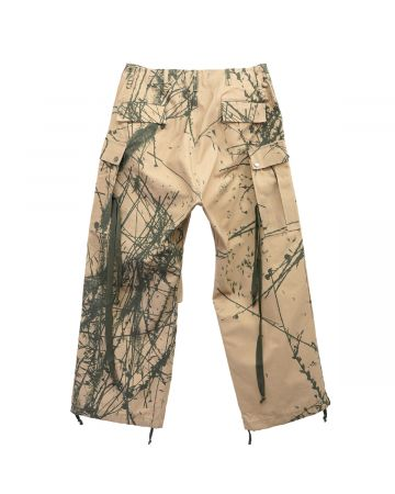 REESE COOPER BRUSHED COTTON CANVAS CARGO PANTS / CANYON CAMO