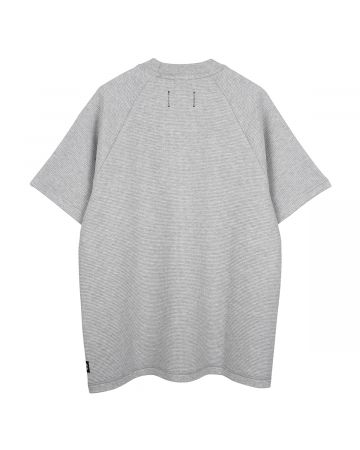Reigning Champ MOCKNECK T-SHIRT-FLATBACK THERMAL / 093 : H.GRAY