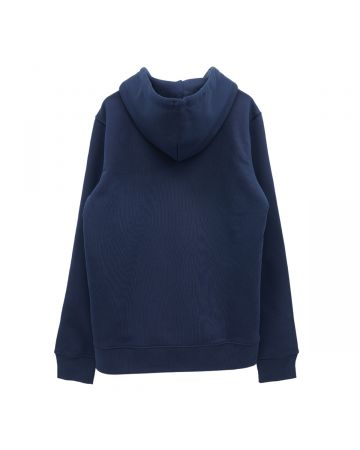 rokh BOUCLE EMBROIDERED HOODIE / 006 : DARK NAVY