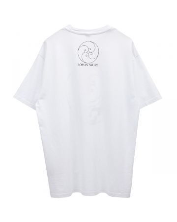 Roman Skelly STEAL YOUR FACE SHIRTS / WHITE