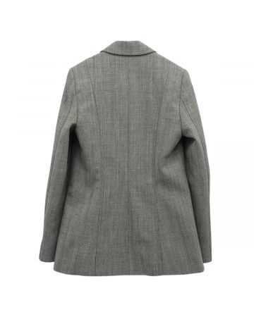Stefan Cooke TAILORED JACKET WITH 5 POCKETS AND BRASS / GREY