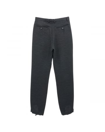 SHOOP LOUIS TROUSERS / BLACK
