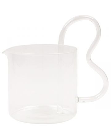 Sophie Lou Jacobsen WHSL-BEAN PITCHER / CLEAR-CLEAR HANDLE