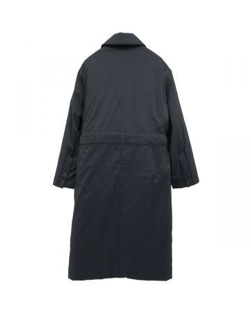 th products LONG PADDED COAT / BLACK